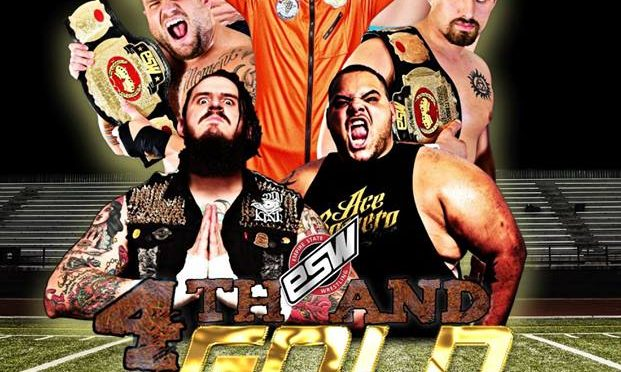 "Results from ESW ""4th and Gold"" on Saturday, August 25!"
