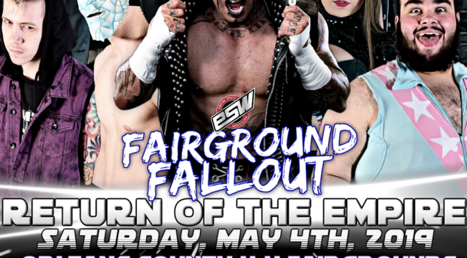 Results from ESW Fairground Fallout: May 4 in Albion, NY! Featuring Shannon Moore
