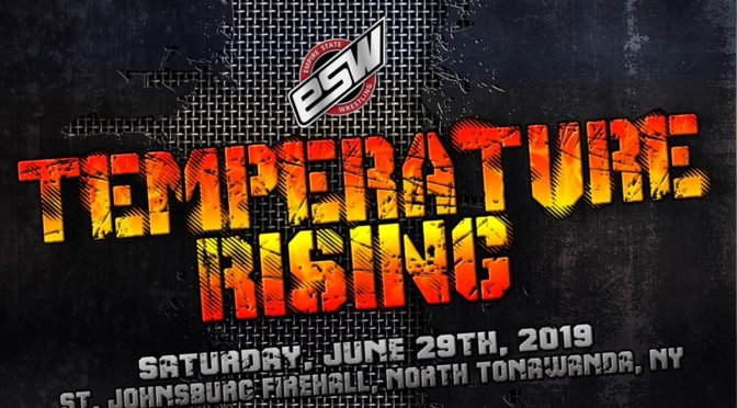 "Results from ESW ""Temperature Rising"", June 29 in North Tonawanda NY!"