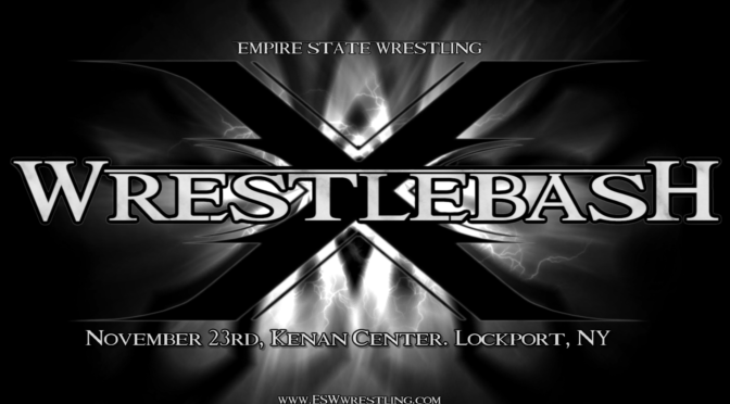Results from ESW Wrestlebash: Saturday, November 23 in Lockport, NY!